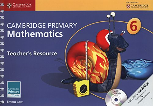 9781107694361: Cambridge Primary Mathematics Stage 6 Teacher's Resource with CD-ROM (Cambridge Primary Maths)