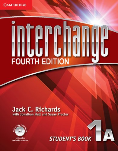 9781107694439: Interchange Level 1 Student's Book A with Self-study DVD-ROM