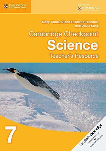 Cambridge Checkpoint Science Teachers Resource 7 Cambridge International Examinations: Mary Jones