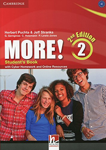 9781107694781: More! Level 2 Student's Book with Cyber Homework and Online Resources Second Edition - 9781107694781