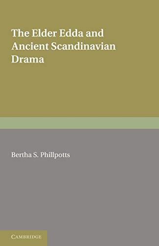 9781107694842: The Elder Edda and Ancient Scandinavian Drama