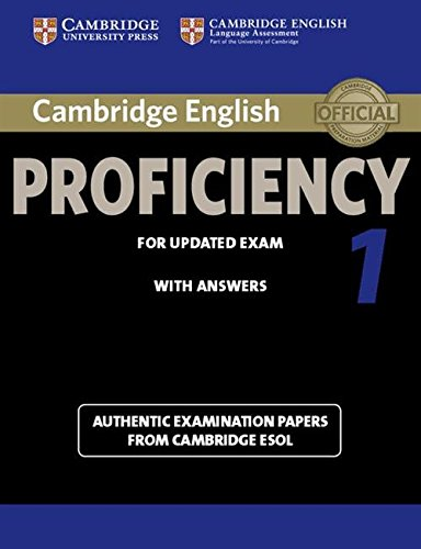9781107695047: Cambridge English Proficiency 1 for Updated Exam Student's Book with Answers (CPE Practice Tests)