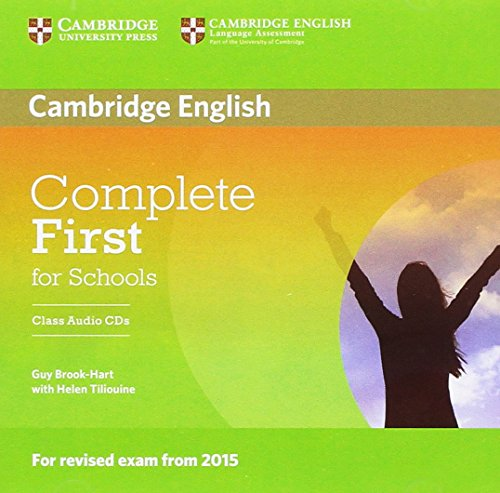 9781107695337: Complete First for Schools Class Audio CDs (2)
