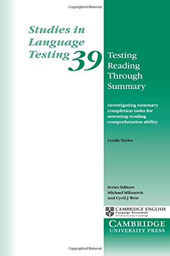 9781107695702: Testing Reading through Summary (Studies in Language Testing)