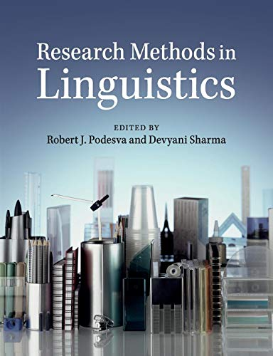 9781107696358: Research Methods in Linguistics