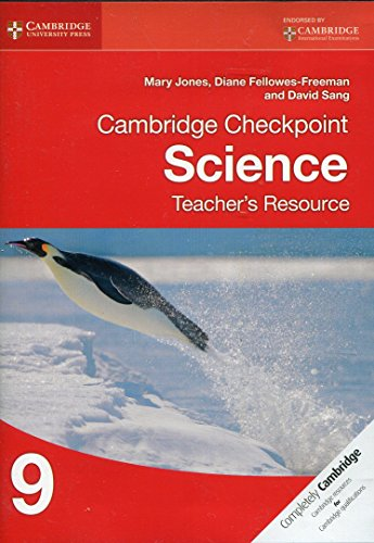 9781107696495: Cambridge Checkpoint Science Teacher's Resource 9 (Cambridge International Examinations)