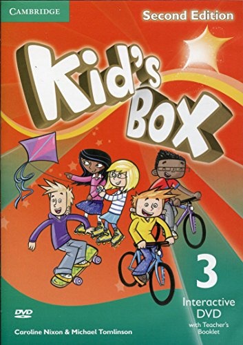 9781107696914: Kid's Box Level 3 Interactive DVD (NTSC) with Teacher's Booklet Second Edition - 9781107696914
