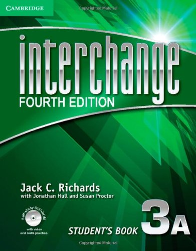 9781107697201: Interchange 4th 3 Student's Book A with Self-study DVD-ROM (Interchange Fourth Edition)