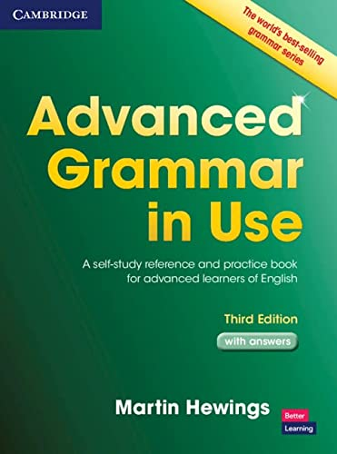 9781107697386: Advanced Grammar in Use with Answers: A Self-Study Reference and Practice Book for Advanced Learners of English