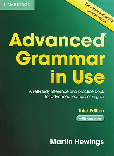 9781107697386: Advanced Grammar in Use Book with Answers: A Self-Study Reference and Practice Book for Advanced Learners of English