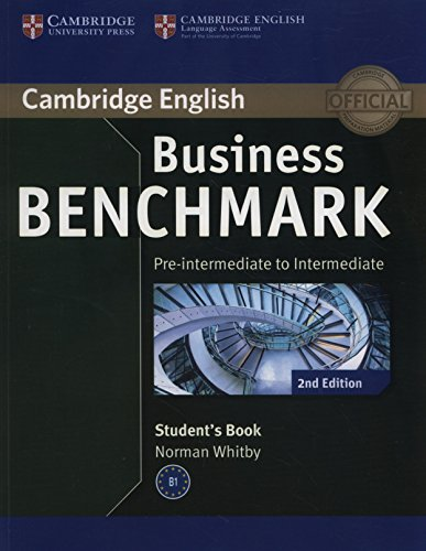 9781107697812: Business Benchmark 2nd Pre-intermediate to Intermediate BULATS Student's Book (Cambridge English)