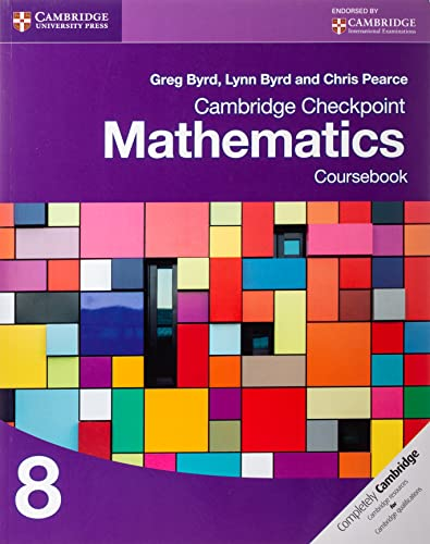 9781107697874: Cambridge Checkpoint Mathematics Coursebook 8 (Cambridge International Examinations)