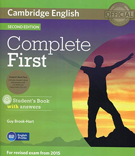 9781107698352: Complete First Student's Book Pack (Student's Book with Answers with CD-ROM, Class Audio CDs (2)) Second Edition