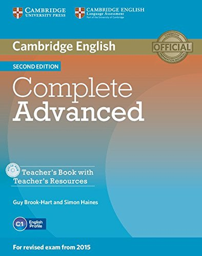 9781107698383: Complete Advanced Teacher's Book with Teacher's Resources CD-ROM