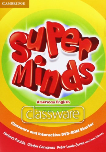 9781107698741: Super Minds American English Starter Classware and Interactive DVD-ROM