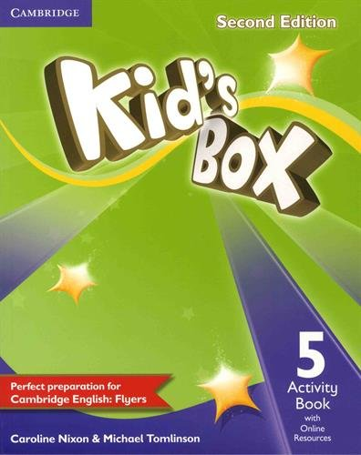 9781107699113: Kid's Box Level 5 Activity Book with Online Resources