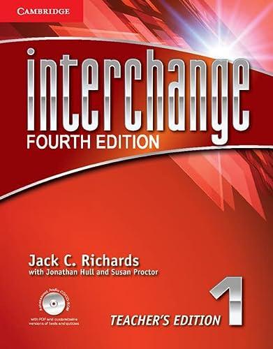 9781107699175: Interchange 4th  1 Teacher's Edition with Assessment Audio CD/CD-ROM (Interchange Fourth Edition)