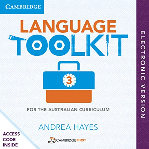 Language Toolkit 3 for the Australian Curriculum: Andrea Hayes