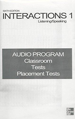 9781107922020: Interactions 1 Listening/Speaking 6th Edition Audio Program