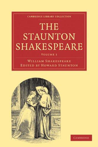 The Staunton Shakespeare 3 Volume Paperback Set: WILLIAM SHAKESPEARE ,