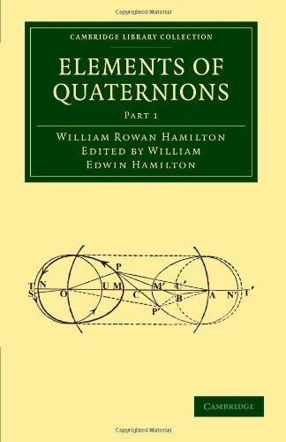 9781108001717: Elements of Quaternions (Cambridge Library Collection - Mathematics)