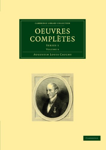 9781108002721: Oeuvres complètes: Series 1 (Cambridge Library Collection - Mathematics) (French Edition)