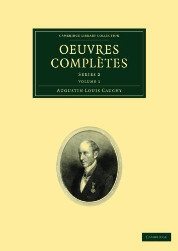 Oeuvres complètes: Series 2 (Cambridge Library Collection - Mathematics) (French Edition): ...