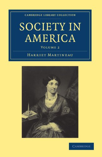 9781108003636: 2: Society in America (Cambridge Library Collection - North American History)