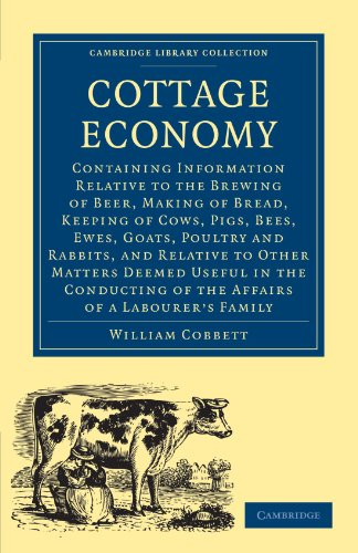 9781108004077: Cottage Economy (Cambridge Library Collection - British and Irish History, 19th Century)