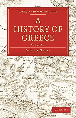 9781108009508: A History of Greece (Cambridge Library Collection - Classics)
