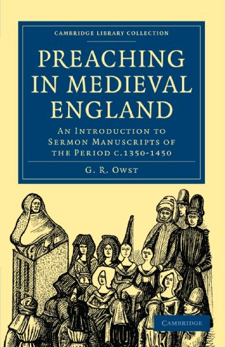 9781108010078: Preaching in Medieval England: An Introduction to Sermon Manuscripts of the Period c.1350-1450 (Cambridge Library Collection - Medieval History)