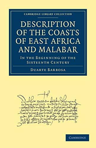 Description of the Coasts of East Africa: Duarte Barbosa