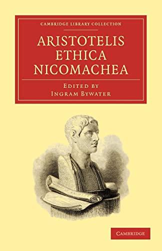 9781108011891: Aristotelis Ethica Nicomachea (Cambridge Library Collection - Classics)
