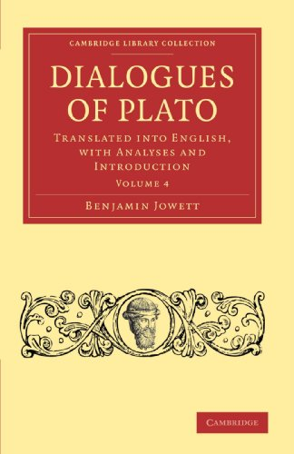 9781108012133: Dialogues of Plato: Translated into English, with Analyses and Introduction (Cambridge Library Collection - Classics)