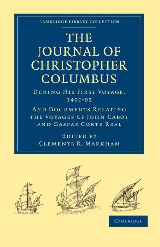 Journal of Christopher Columbus (During His First: Christopher Columbus