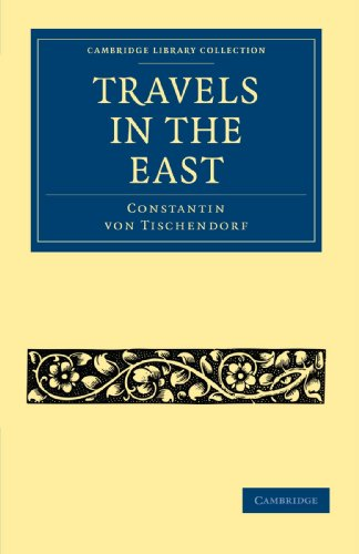 9781108014793: Travels in the East (Cambridge Library Collection - Travel, Middle East and Asia Minor)