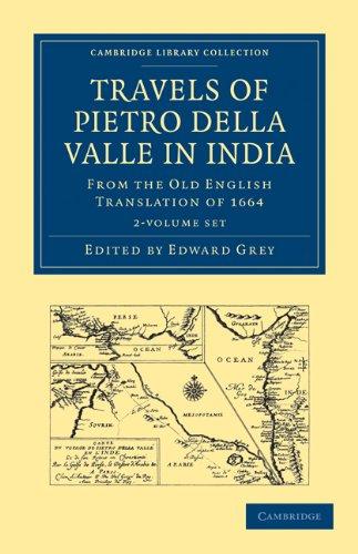 Travels of Pietro della Valle in India 2 Volume Paperback Set (Hardcover): Pietro Della Valle