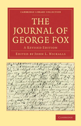9781108016117: The Journal of George Fox 2 Part Set: A Revised Edition (Cambridge Library Collection - Religion)