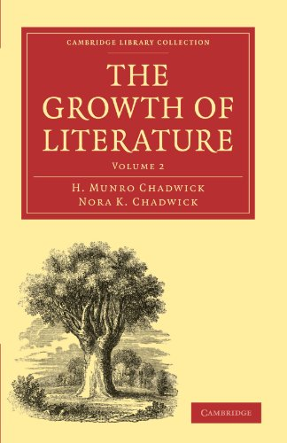 9781108016155: 2: The Growth of Literature (Cambridge Library Collection - Literary Studies)