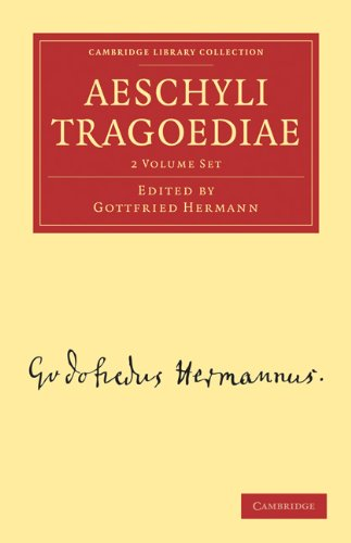 Aeschyli Tragoediae 2 Volume Set (Paperback): Gottfried Hermann