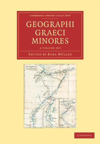 Geographi Graeci minores 2 Volume Paperback Set: Cambridge University Press