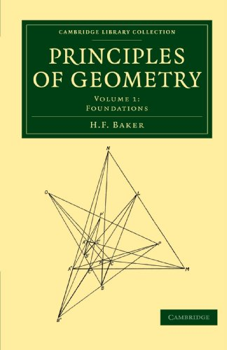 9781108017770: Principles of Geometry (Cambridge Library Collection - Mathematics)