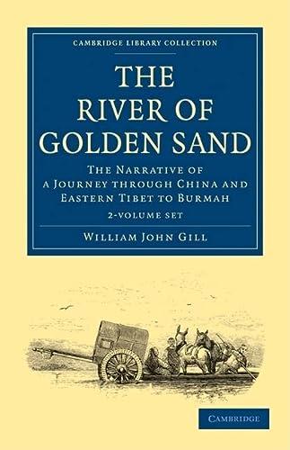 The River of Golden Sand 2 Volume Set (Paperback): William John Gill