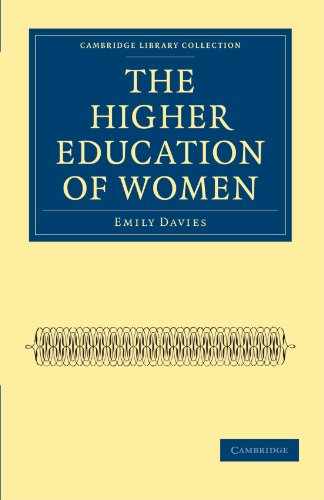 9781108020725: The Higher Education of Women (Cambridge Library Collection - Education)