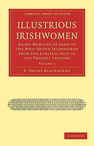 Illustrious Irishwomen: E. OWENS BLACKBURNE
