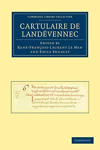 Cartulaire de Landévennec: Volume 0, Part 0.: LE MEN, R. and ERNAULT,