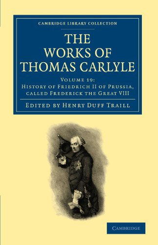 9781108022422: The Works of Thomas Carlyle (Cambridge Library Collection - The Works of Carlyle) (Volume 19)