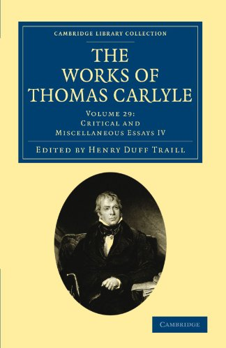 9781108022521: The Works of Thomas Carlyle (Cambridge Library Collection - The Works of Carlyle) (Volume 29)