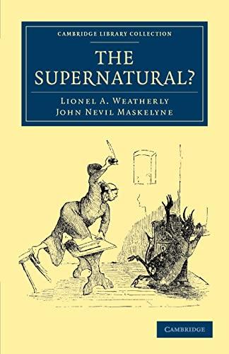 9781108029193: The Supernatural?