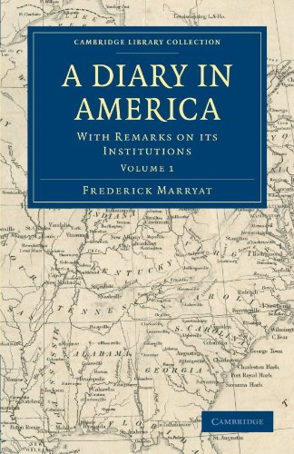 A Diary in America: FREDERICK MARRYAT
